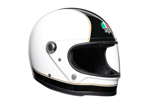 AGV X3000 Super Helm Black White