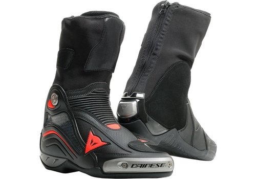 Dainese Axial D1 Air Stivali Nero Fluo Rosso