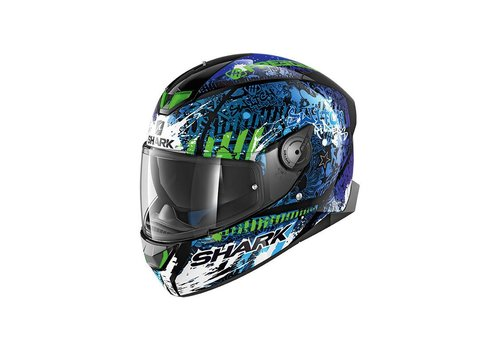 Shark Skwal 2 Replica Switch Rider 2 KBG Helm