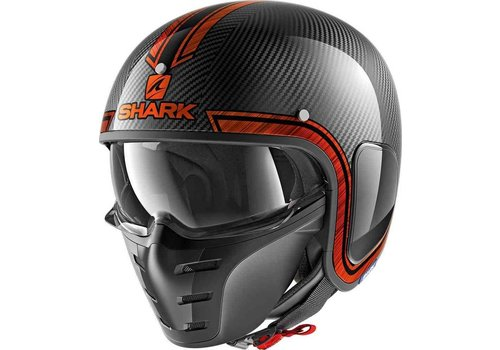 Shark S-Drak Carbon Vinta DUO Helm
