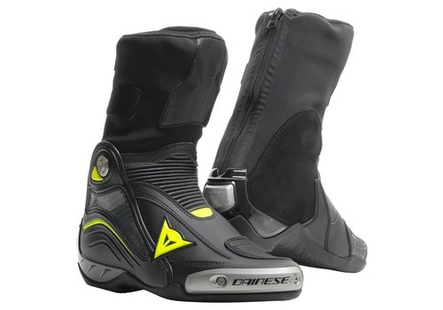 Dainese Axial D1 Boots Black Fluo Yellow