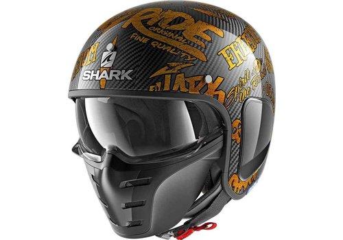 Shark S-Drak Carbon Freestyle Cup DQQ Helm