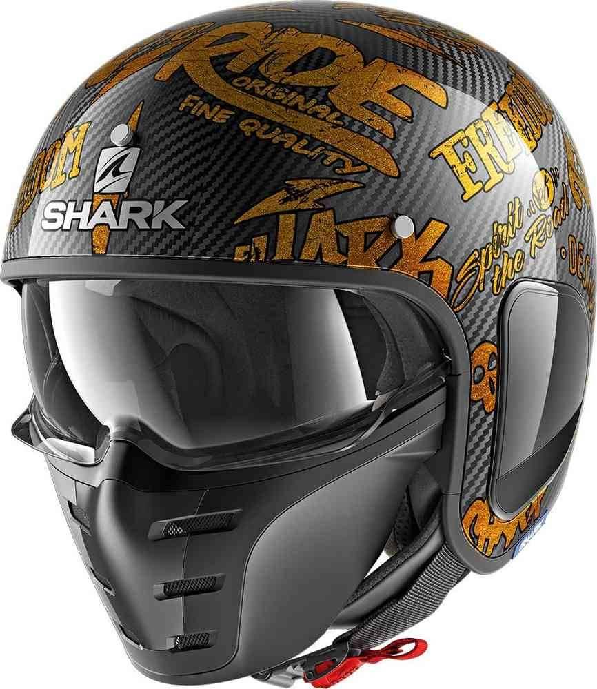 Shark Motorcycle helmets S-DRAK CARBON DAGON DOO