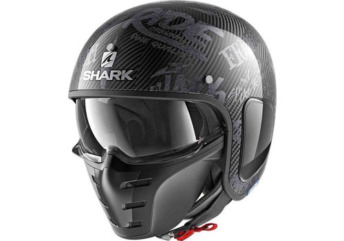 Shark S-Drak Carbon Freestyle Cup DAA Helm