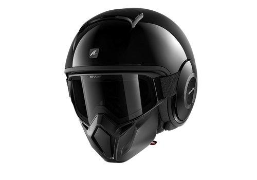 Shark Street-Drak Blank BLK Helmet