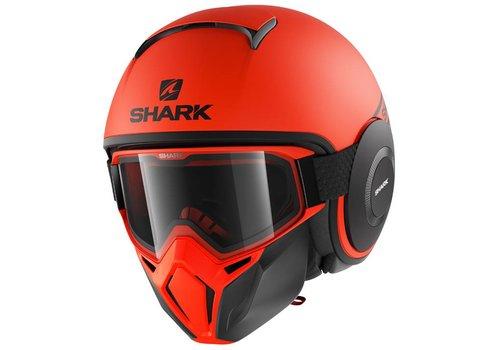 Shark Street-Drak Street Neon OKK Helm
