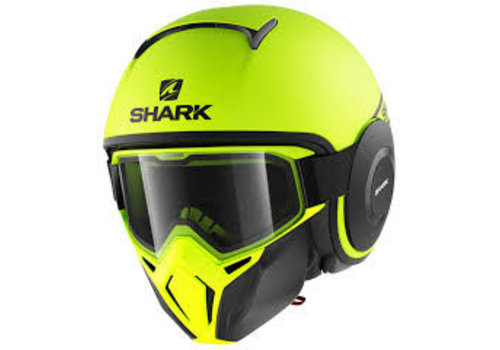 Shark Street-Drak Street Neon YKK Helmet