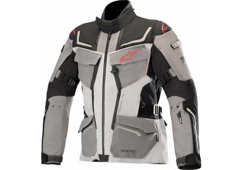 Alpinestars Revenant Gore-Tex Pro Motorradjacke Schwarz Anthrazit Rot