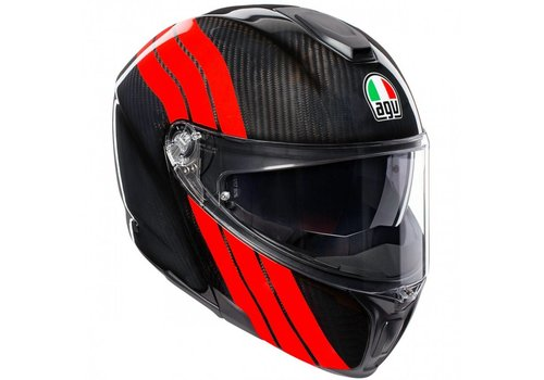 AGV Sportmodular Stripes Helm