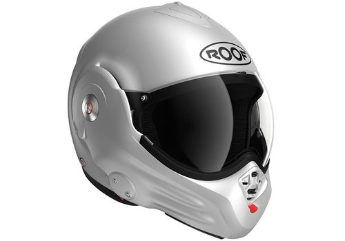 ROOF Casco ROOF Desmo 3 RO32 Silver White Matt