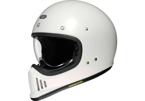 Shoei Ex-Zero Off White шлем