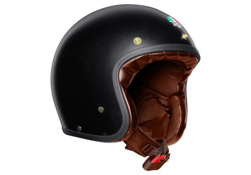 AGV X70 Helm Mattschwarz Gold