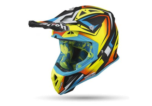 Airoh Aviator 2.3 AMSS FAME Yellow gloss Helmet