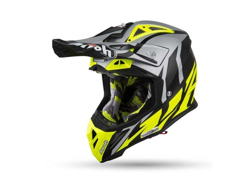 Airoh Aviator 2.3 AMSS GREAT Yellow gloss Helm