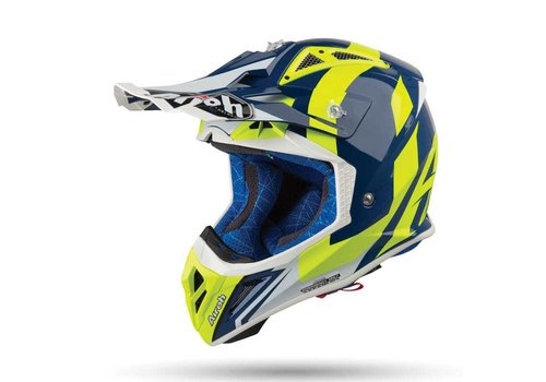 Airoh Aviator 2.3 AMSS BIGGER Blue gloss Helm