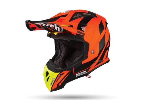 Airoh Aviator 2.3 AMSS BIGGER Orange  matt Helmet