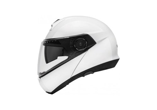 Schuberth C4 Basic Helm Wit Glanzend