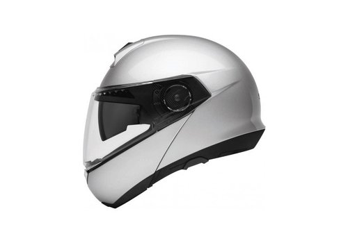 Schuberth C4 Basic Helmet Silver
