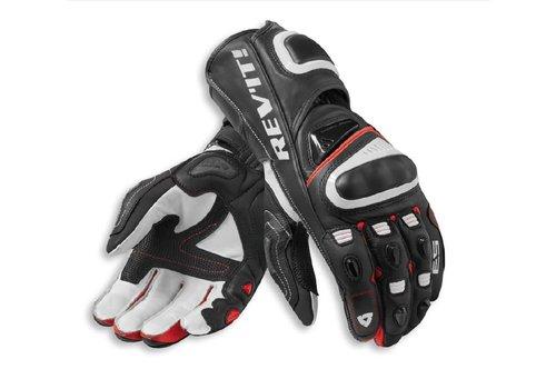 Revit Jerez 3 Handschuhe Schwarz Rot