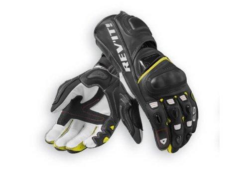 Revit Jerez 3 Handschuhe Schwarz Fluo Gelb