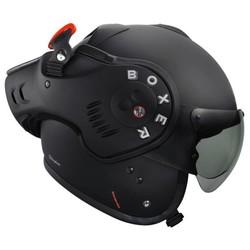 ROOF Boxer V8 Matt Black helmet + 50% discount Extra Visor!