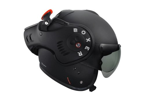 ROOF Boxer V8 Matt nero casco