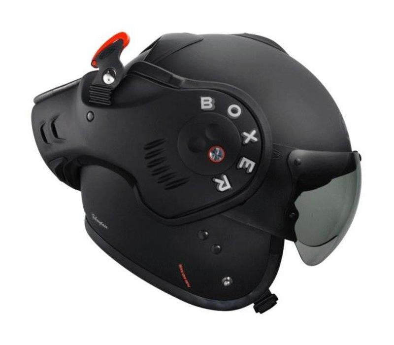 Roof Boxer V8 Matt Schwarz Helm Champion Helmets