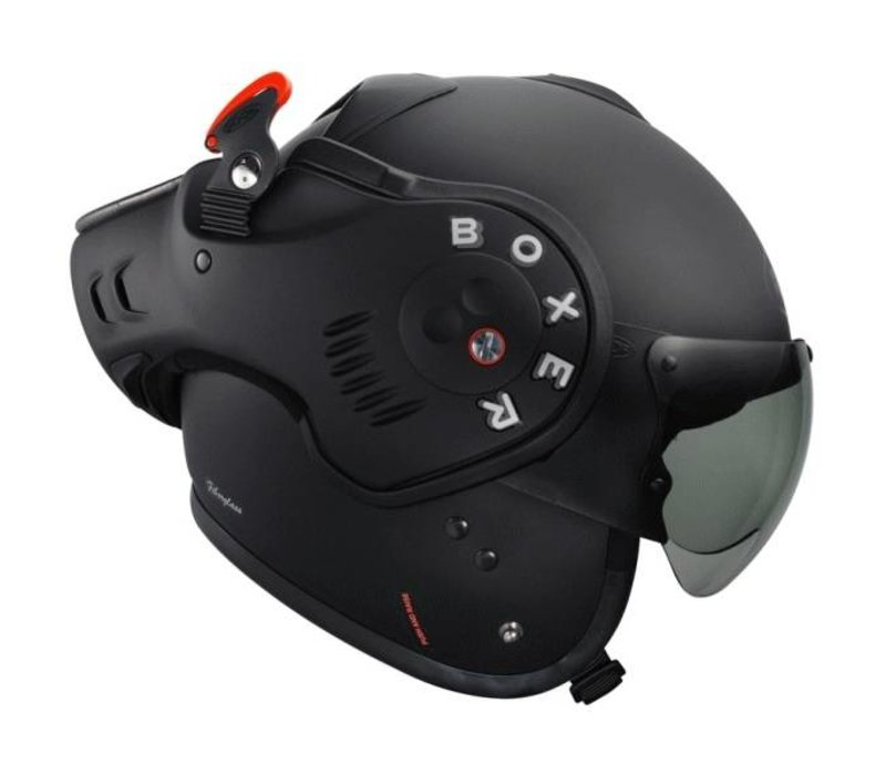 Casque Roof Boxer V8 Matt Noir Champion Helmets