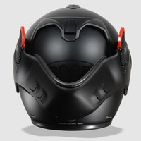 Boxer V8 Matt Black helmet + 50% discount Extra Visor!
