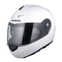 Schuberth C3 Pro Helmet Glossy White - Free Shipping!