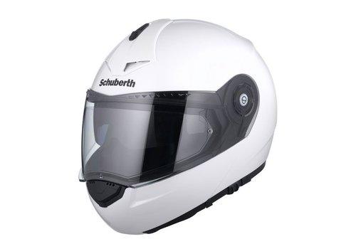 Schuberth C3 Pro Helm Wit Glanzend