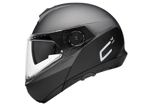 Schuberth C4 Pro Swipe Helm Grau