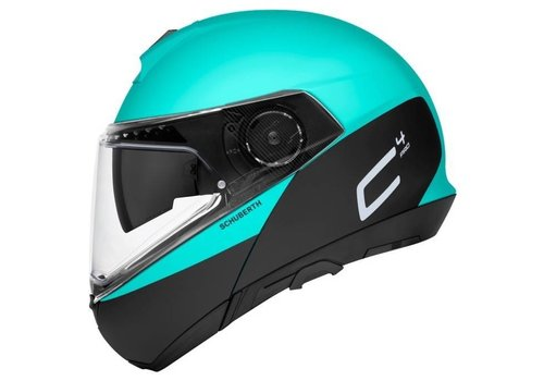 Schuberth C4 Pro Swipe Helm Grün