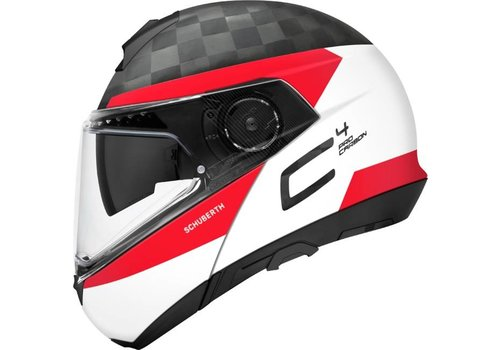 Schuberth C4 Pro Delta Carbon Helm  White