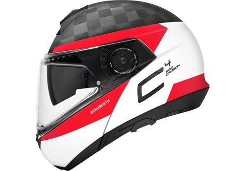 Schuberth C4 Pro Delta Carbon Hjälm White