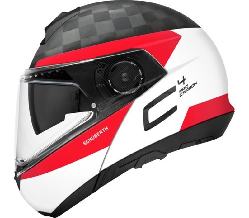 Buy Schuberth C4 Pro Delta Carbon Helmet White Free