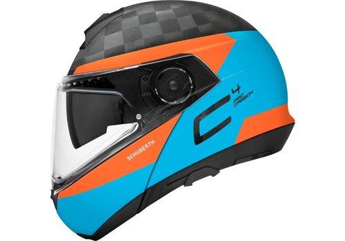 Schuberth C4 Pro Delta Carbon Helmet Blue