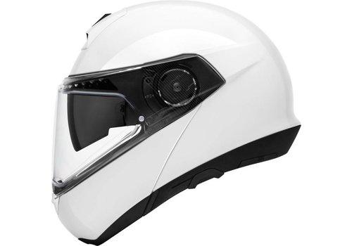 Schuberth C4 Pro Helm Wit Glanzend