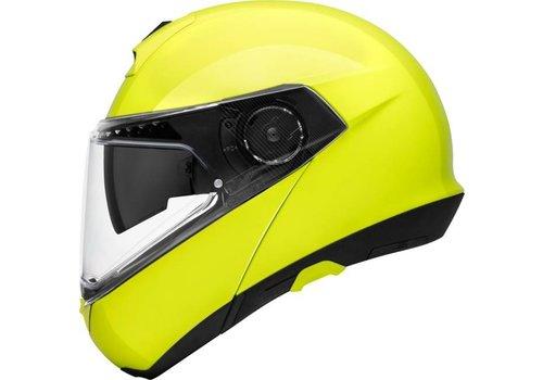 Schuberth C4 Pro Helm Geel Fluo