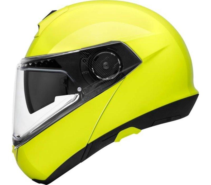 d365c2e9 Buy Schuberth C4 Pro Helmet Yellow Fluo ? + Free Additional Visor ...