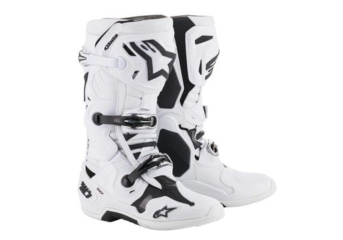 Alpinestars Tech 10 Boots White