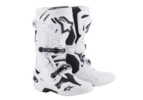 Alpinestars Tech 10 Stiefel Weiß