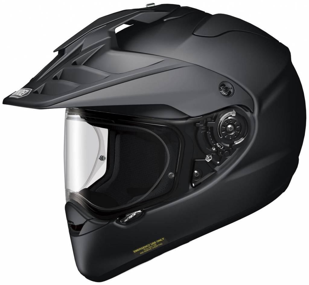 Discount Motorcycle Gear >> Shoei Hornet Adv Helmet Black 50 Discount Extra Visor