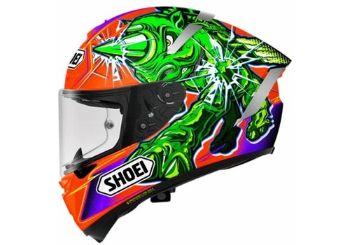 Shoei X-Spirit III Power Rush TC-8 Helmet