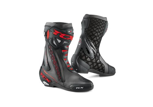 TCX RT-RACE Boots Black Red