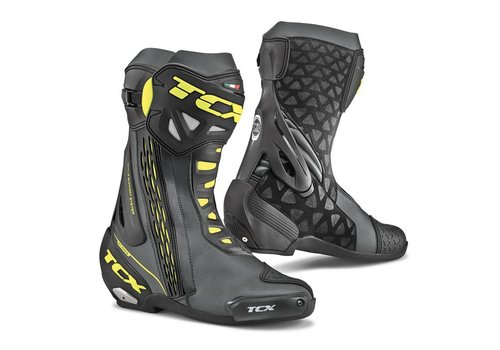 TCX RT-RACE Boots Black Yellow Fluo