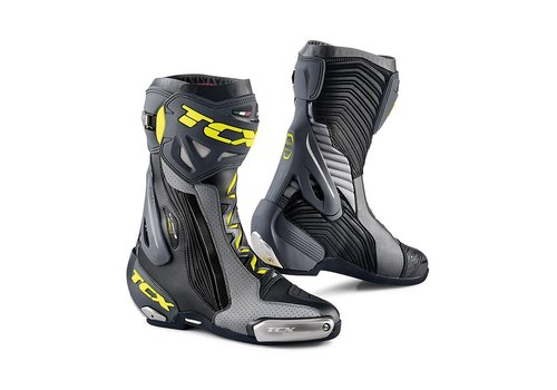 TCX RT-RACE PRO AIR Boots Black Grey Yellow Fluo