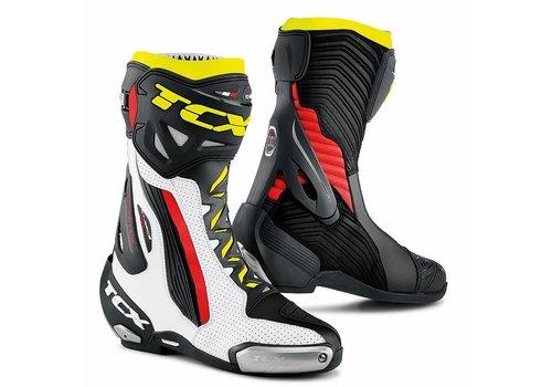 TCX RT-RACE PRO AIR Stivali Bianco Rosso Giallo Fluo