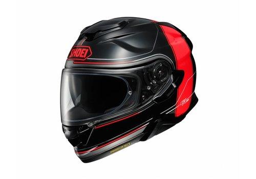 Shoei GT-AIR 2 Crossbar Zwart Rood Helm