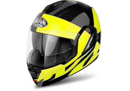Airoh Rev 19 Fusion Yellow Gloss Helmet
